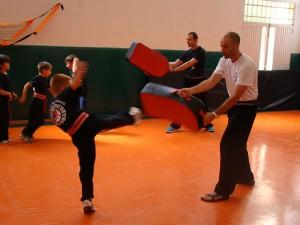 Clases Kungfu Baji Quan en el colegio EXA